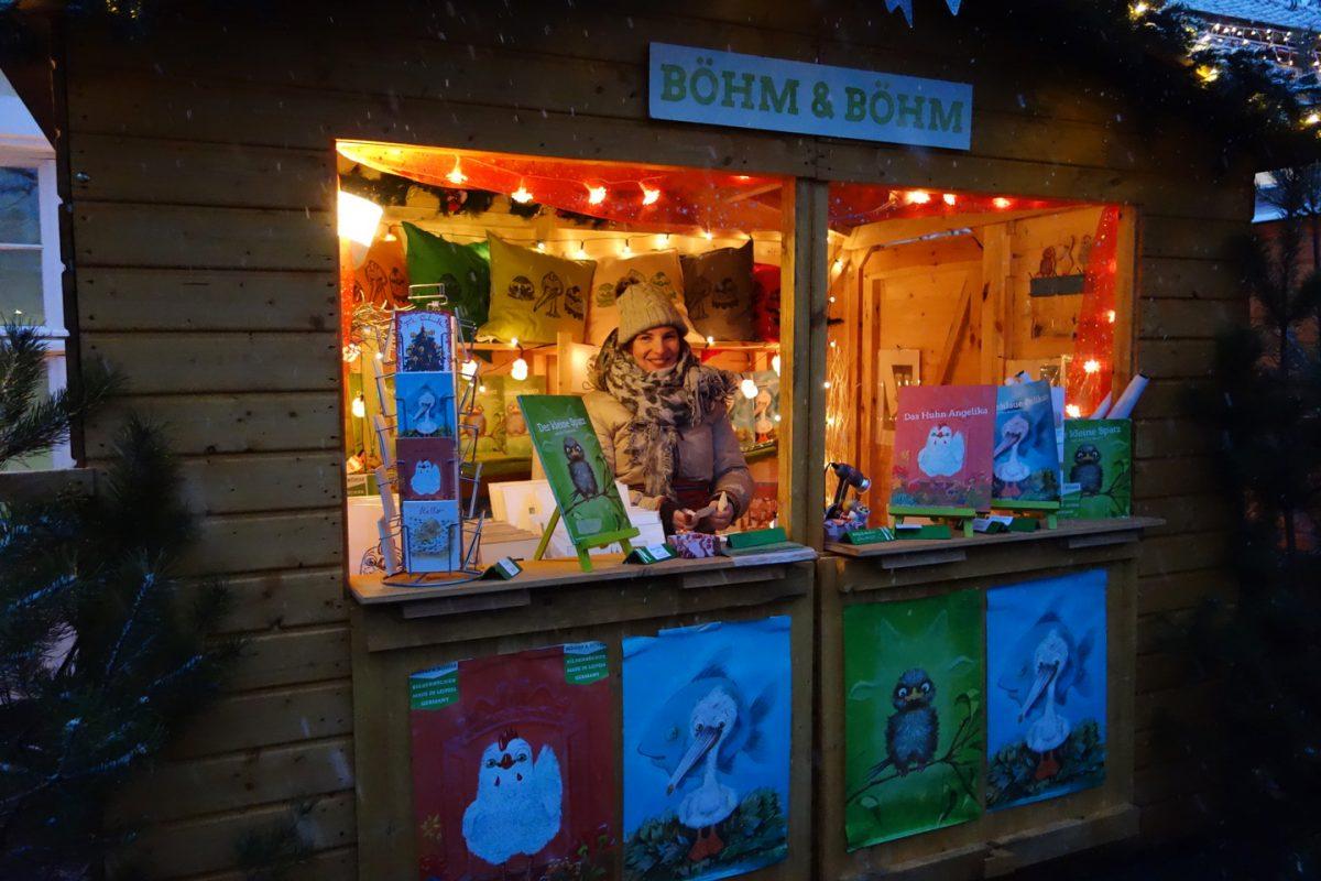 Böhm & Böhm zu Gast auf dem Weihnachtsmarkt am Gohliser Schlößchen